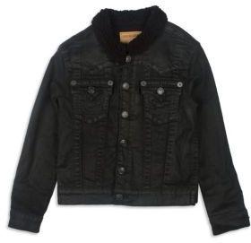 True Religion Toddler's, Little Boy's & Boy's Denim Jacket $99 thestylecure.com