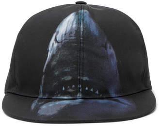 Givenchy Shark-Print Canvas Baseball Cap