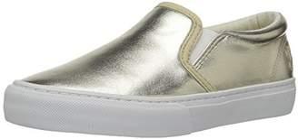 Polo Ralph Lauren Kids' Carlee Twin Gore Metallic Loafer