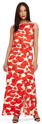 Phase Eight Red Dorothy Poppy Maxi Dress