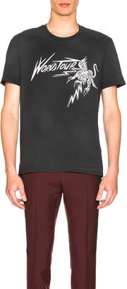 Givenchy World Tour Tee in Black | FWRD