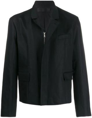 005bf2a4bd9 Haider Ackermann zipped canvas jacket