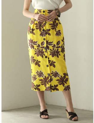LAGUNAMOON (ラグナムーン) - LAGUNAMOON Summerフラワータイトスカート