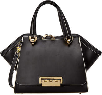 Zac Posen Eartha Small Leather Satchel