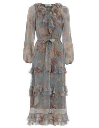 Zimmermann Unbridled Cascade Midi Dress