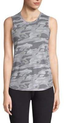 Monrow Camo Muscle Tank Top