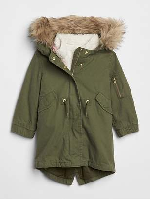 Gap 3-in-1 Sherpa Parka