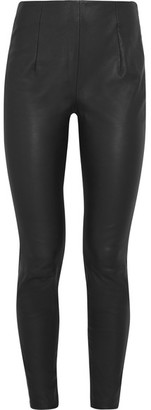 Mugler - Stretch-leather Skinny Pants - Black $1,650 thestylecure.com