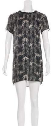 Theyskens' Theory Silk Mini Dress