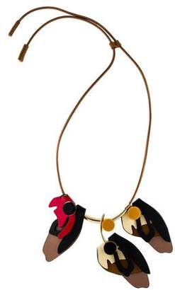 Marni Leather Cord Necklace