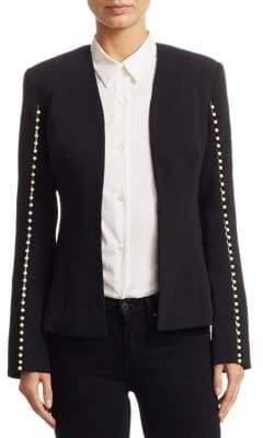 Jonathan Simkhai Pearl Studded Blazer