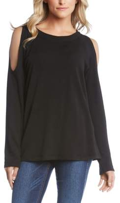 Karen Kane Cold Shoulder Sweatshirt