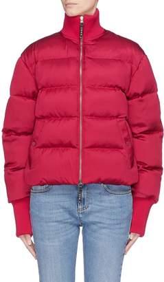 Alexander McQueen High neck down puffer bomber jacket