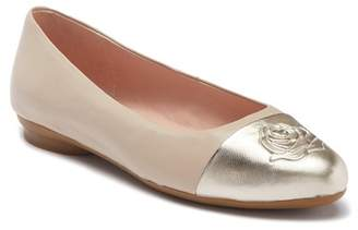 Taryn Rose Annabella Leather Ballet Flat