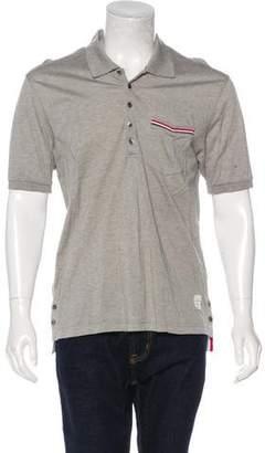Thom Browne Piqué Polo Shirt