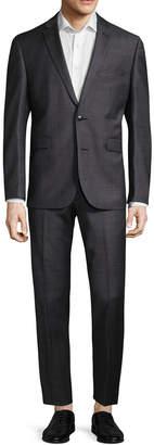 Vince Camuto Solid Notch Suit