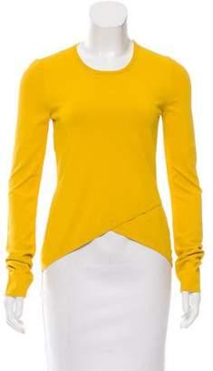 Cédric Charlier Asymmetrical Long Sleeve Top