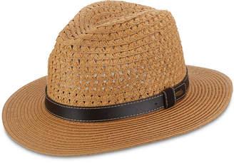 Dorfman Pacific Scala Men Braid Safari Hat