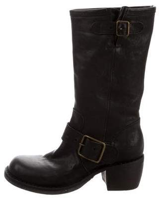Fiorentini+Baker Leather Mid-Calf Boots w/ Tags