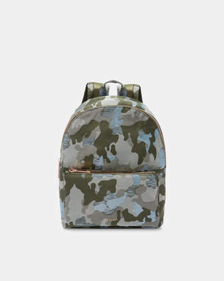 Ted Baker GLORRIA Camouflage jacquard backpack