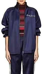 Opening Ceremony Women's Reversible Satin Track Jacket - Blue