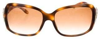Bvlgari Tortoiseshell Embellished Sunglasses