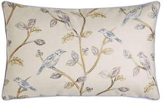 "Jane Wilner Designs Suki Bird Pillow, 15"" x 26"""