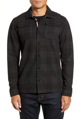 Ted Baker Chekmay Slim Fit Plaid Overshirt
