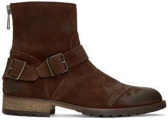 Belstaff Brown Trialmaster Short Boots