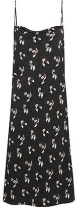 Opening Ceremony Printed Crepe Dress