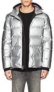 The Very Warm THE VERY WARM MEN'S INSULATED PUFFER JACKET-SILVER SIZE XL