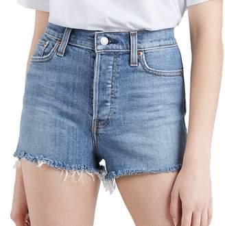 Levi's Levis Women's Wedgie Roll-Hem High-Waisted Jean Shorts