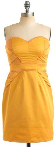 Tangerine Zest Dress
