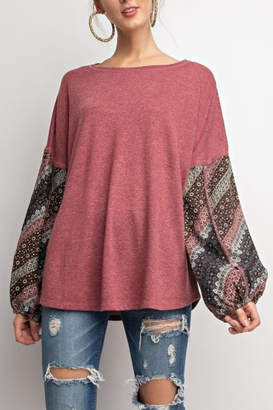 Easel Mellow Style top