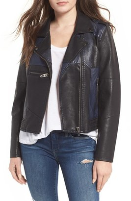 Women's Blanknyc Faux Leather Jacket $148 thestylecure.com