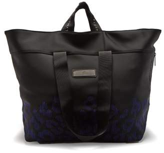 adidas by Stella McCartney Oversized Neoprene Tote - Womens - Black Purple