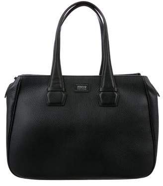Armani Collezioni Grained Leather Tote