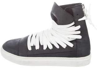 Kris Van Assche Icarus High-Top Sneakers