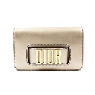 Christian Dior Dio(r)evolution Gold Leather Clutch bags