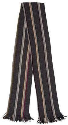 Paul Smith Wool Striped Scarf