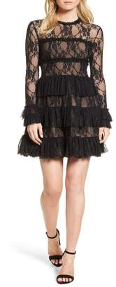 Bailey 44 Feeding Circle A-Line Lace Dress