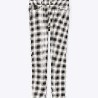 Uniqlo WOMEN Print Cropped Leggings Pants