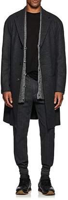 John Varvatos Men's Oversized Wool-Cashmere Overcoat