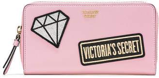 Victoria's Secret Victorias Secret Patch Zip Wallet