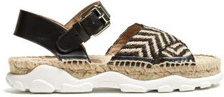 Stella McCartney Woven-rope espadrille sandals