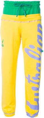 Gcds printed jogging trousers