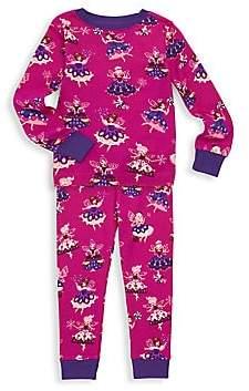 Hatley Little Girl's & Girl's Two-Piece Fairy Sleeper Pajama Set
