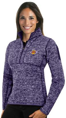 Antigua Women's Los Angeles Lakers Fortune Pullover