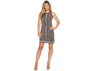 MICHAEL Michael Kors Cheetah Sleeveless Border Dress Women's Dress