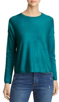 Eileen Fisher Long-Sleeve Crewneck Sweater